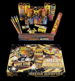 Mega Bonfire 25pc Selection Box